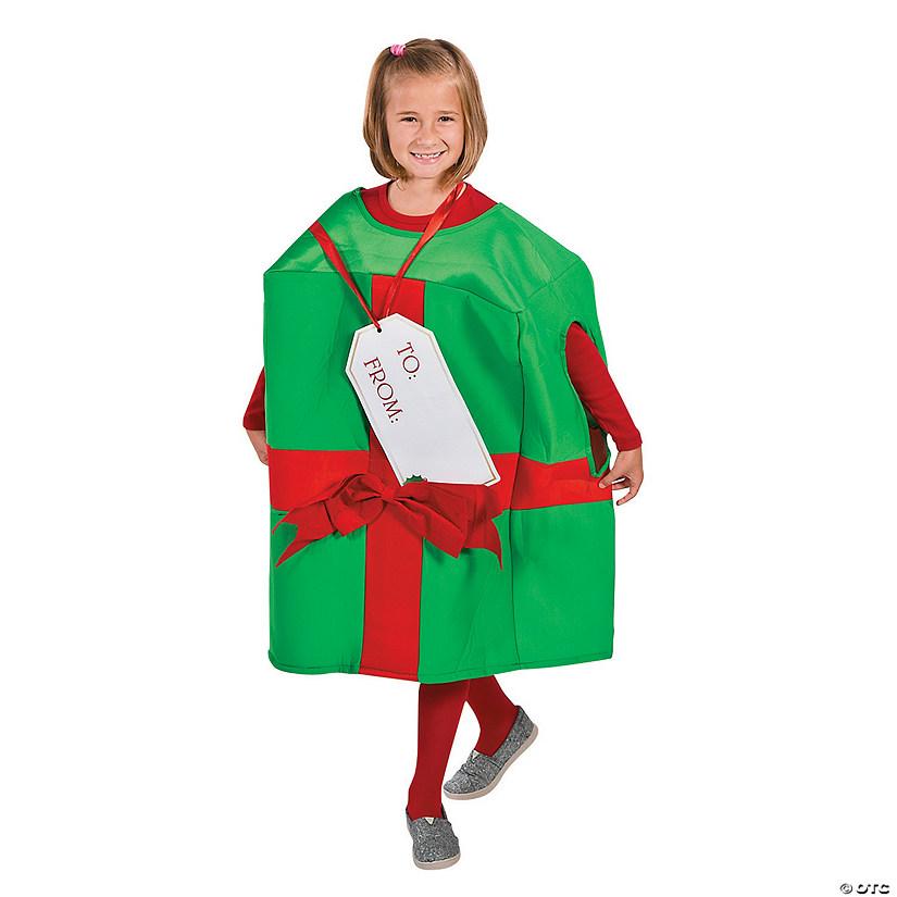 kid s christmas present costume