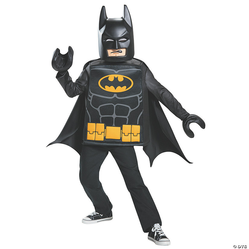 Kid's Classic LEGO Batman Costume - Small Audio Thumbnail