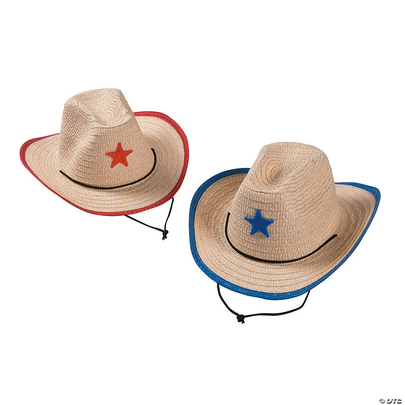 Kids' Cowboy Hats with Star Audio Thumbnail