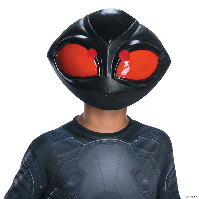 Kid's DC™ Aquaman Black Manta 1/2 Mask Audio Thumbnail