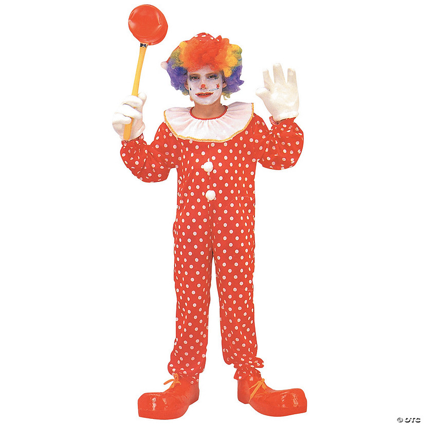 Kid's Deluxe Clown Costume