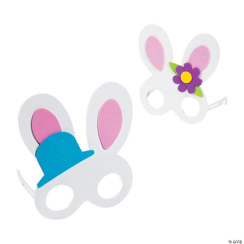 Kids Easter Bunny Glasses Craft Kit Audio Thumbnail