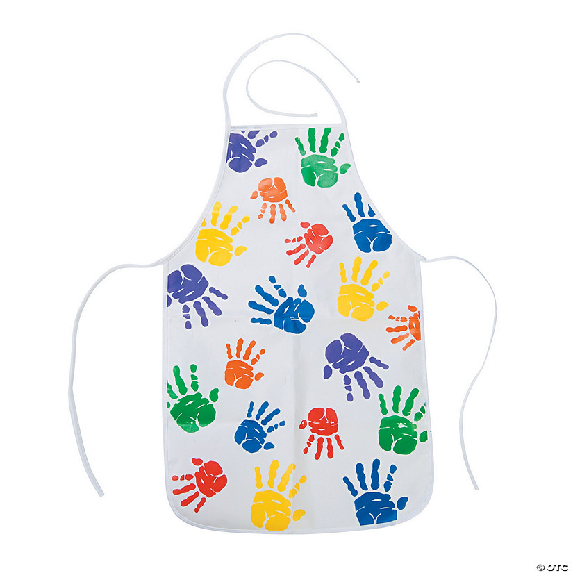 Kids' Easy Wipe Aprons