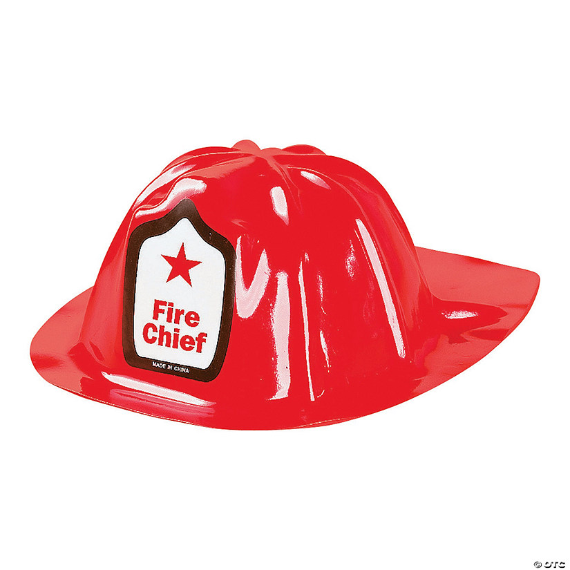 Kids' Fire Chief Hats Audio Thumbnail