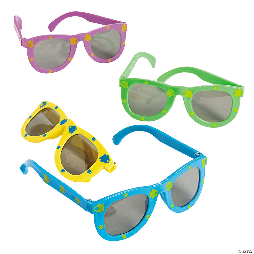 Kids' Fish Print Sunglasses Audio Thumbnail
