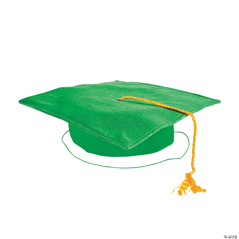 Kids' Green Elementary School Graduation Mortarboard Audio Thumbnail