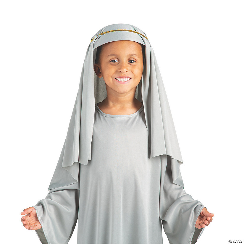 Kid's Grey Nativity Hat Audio Thumbnail