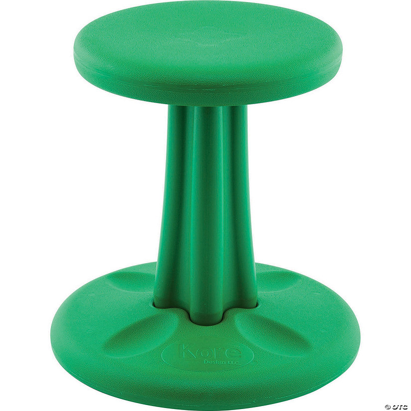 Kids Kore Wobble Chair 14In Green Audio Thumbnail