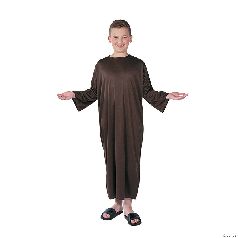 Kids' Large Brown Nativity Gown Audio Thumbnail