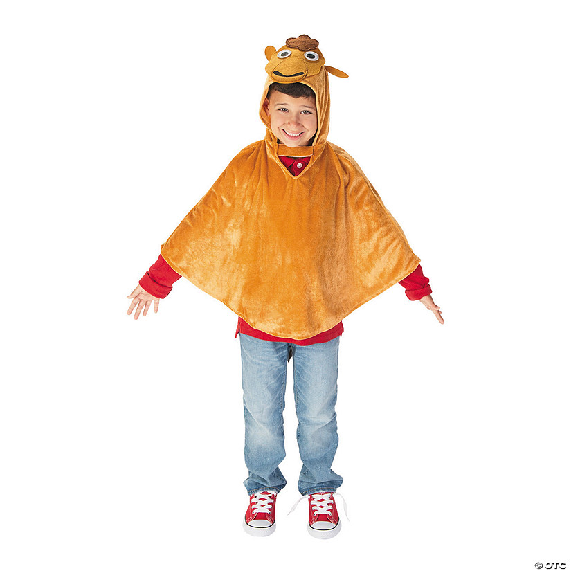 Kid's Nativity Camel Poncho Audio Thumbnail