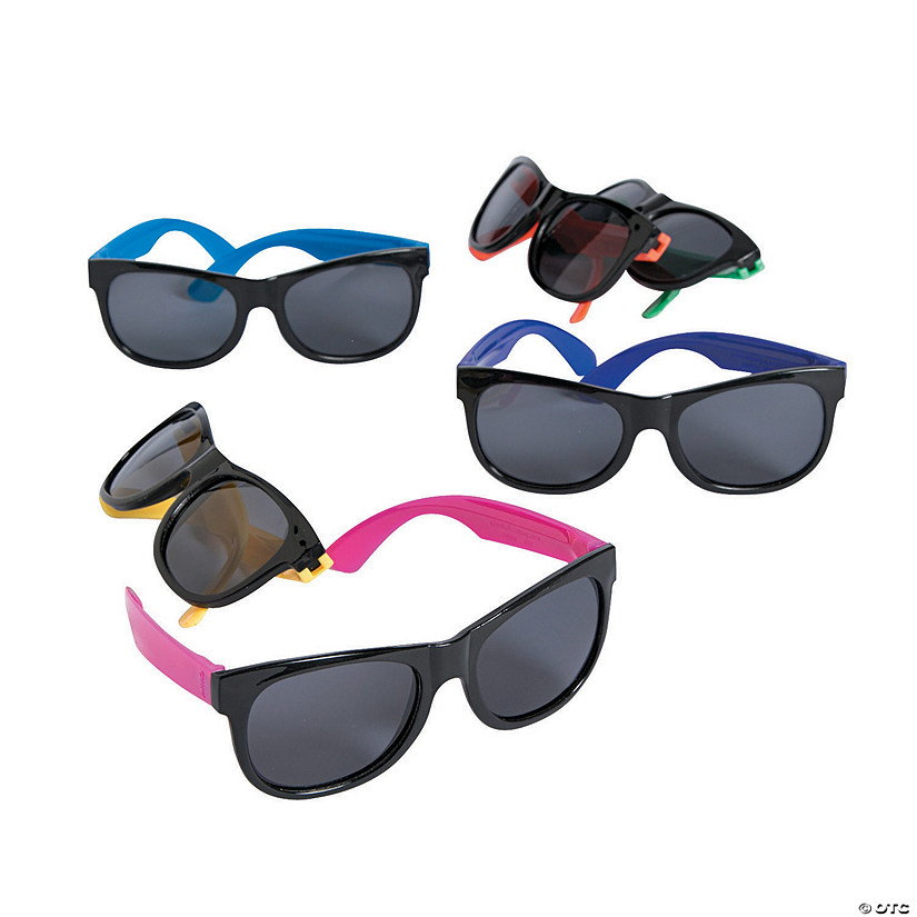 Kid's Neon & Black Nomad Sunglasses  Image Thumbnail