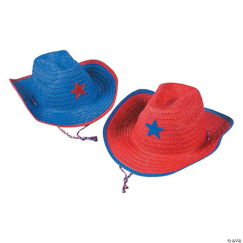 7df723de373e5 Kids  Patriotic Cowboy Hats with Star