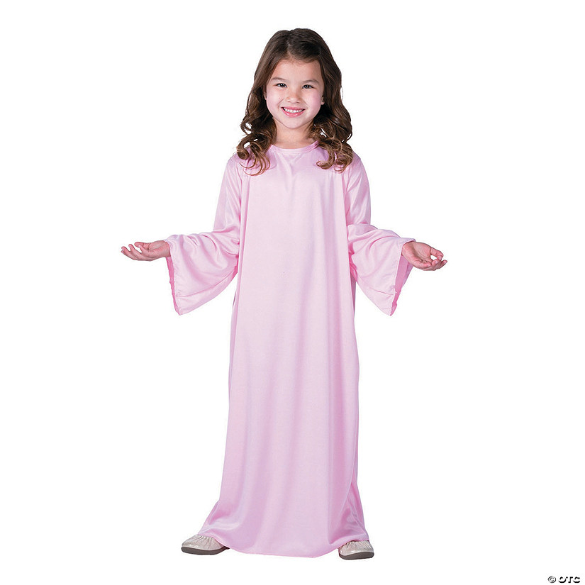 Kid's Pink Nativity Gown - Small Audio Thumbnail