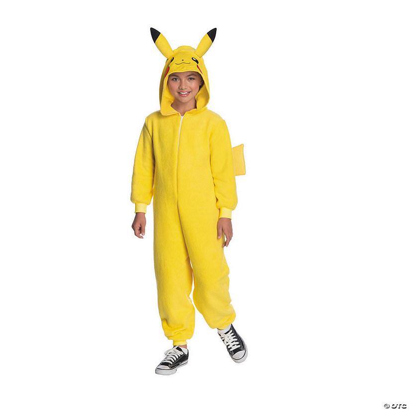 0e66e70ca6b7 Kid s Pokemon™ Pikachu Hooded Jumpsuit Costume