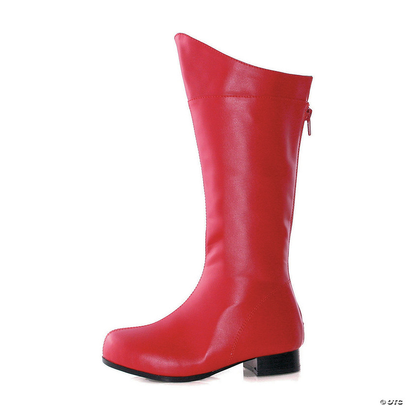 Kids' Red Superhero Boots