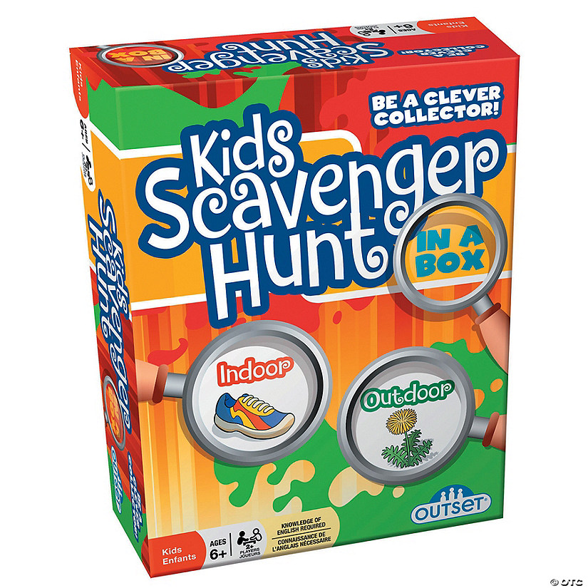 Kids Scavenger Hunt Game Image Thumbnail