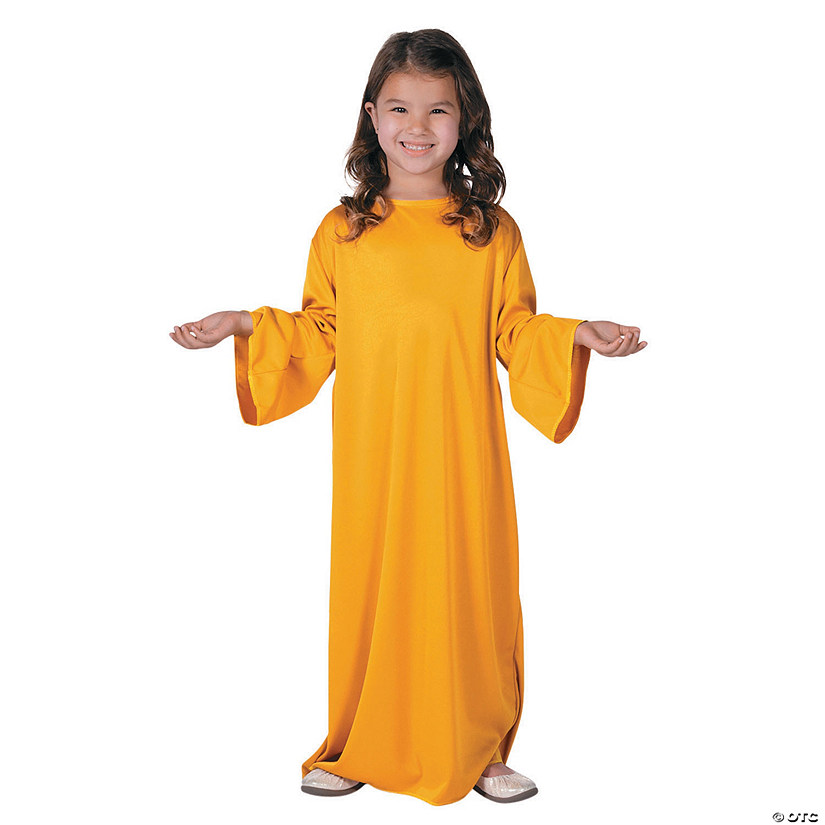 Kids' Small Goldenrod Nativity Gown Audio Thumbnail