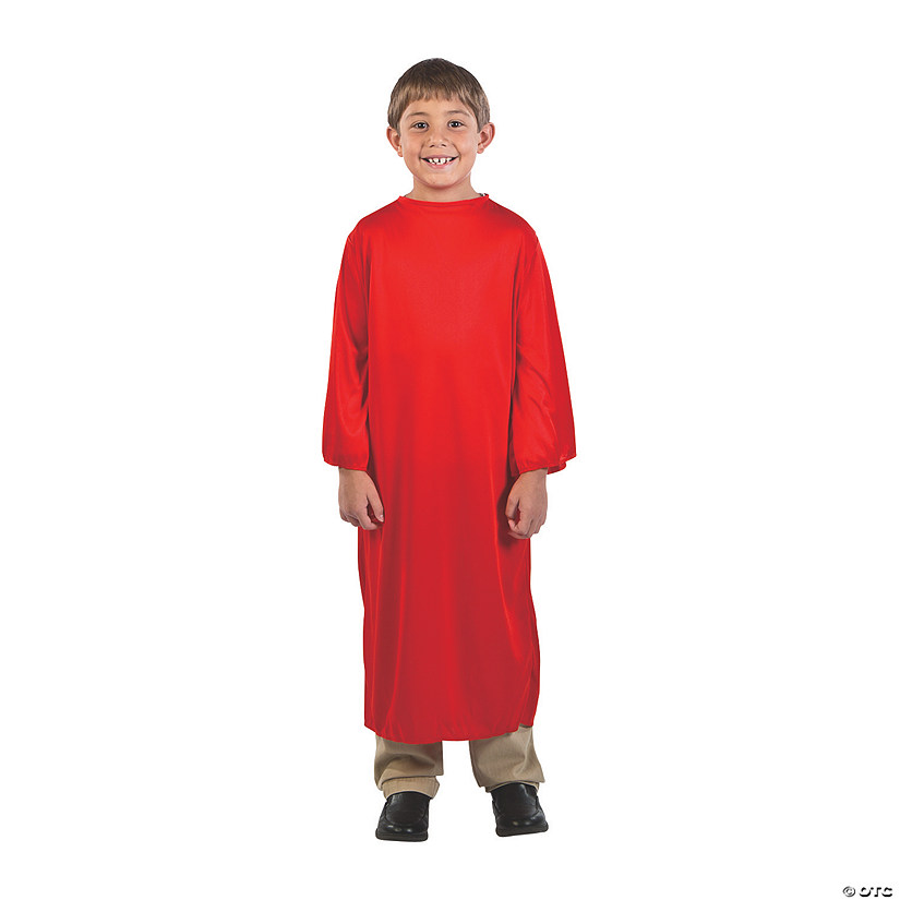 Kids' Small Red Nativity Gown