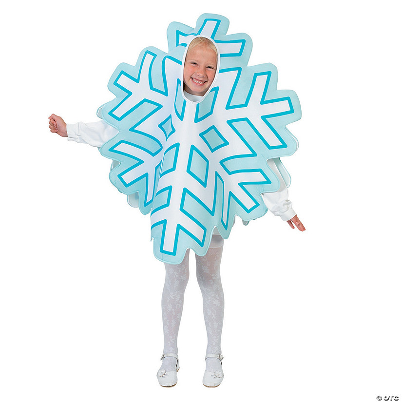 Kid's Snowflake Costume
