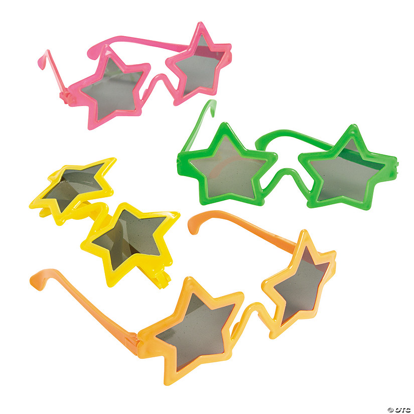 Kids' Star-Shaped Sunglasses Image Thumbnail