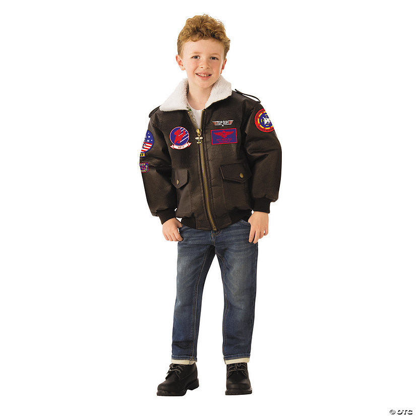 Kid's Top Gun™ Bomber Jacket Costume Audio Thumbnail