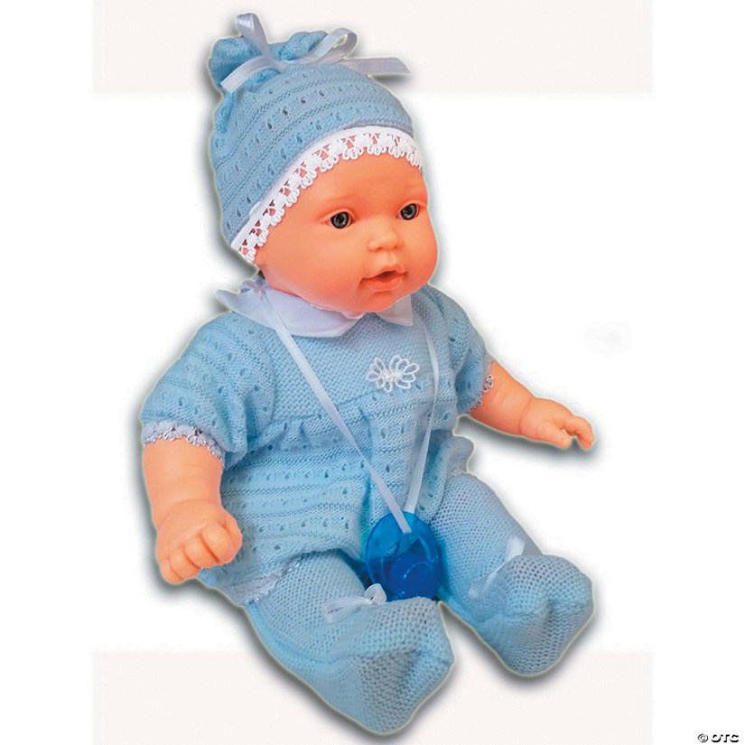 Kiko Baby Boy Doll with Wool Outfit