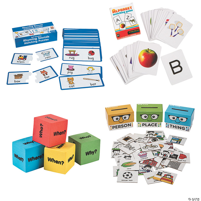 Kindergarten Language Arts At-Home Learning Kit Image Thumbnail
