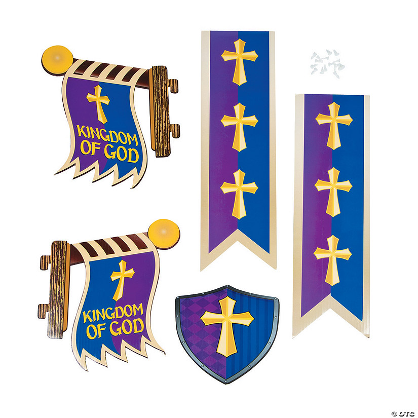 Kingdom VBS Archway Cross Flags