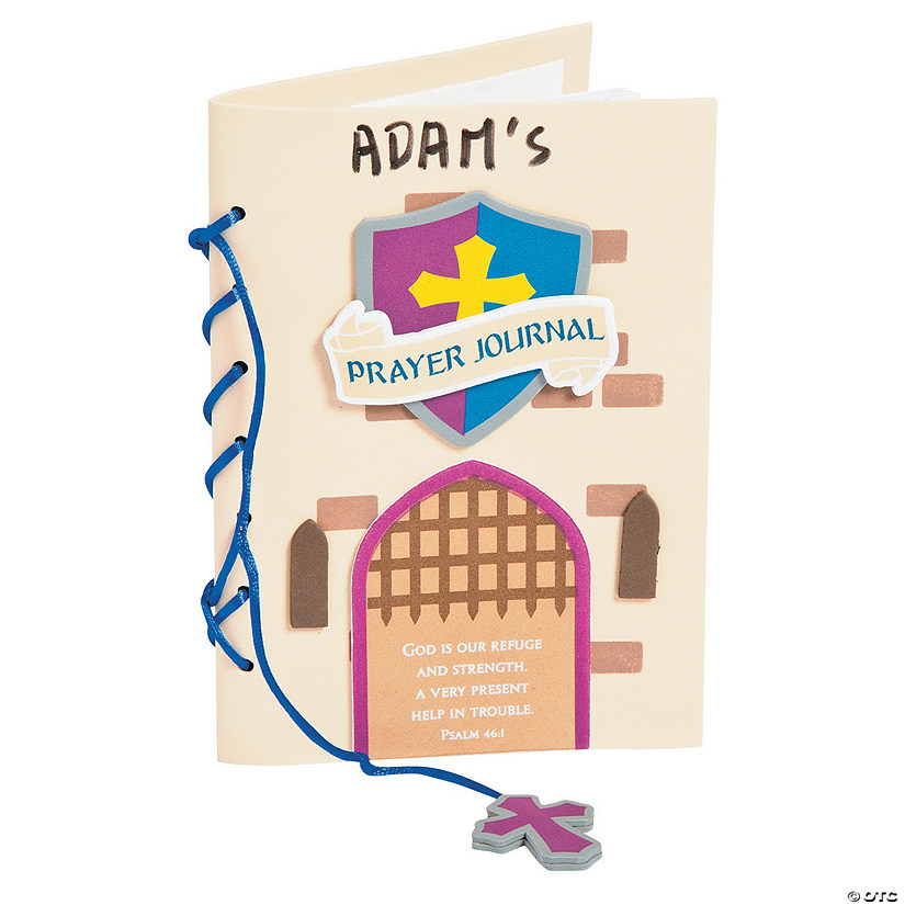 Kingdom VBS Prayer Journal Craft Kit