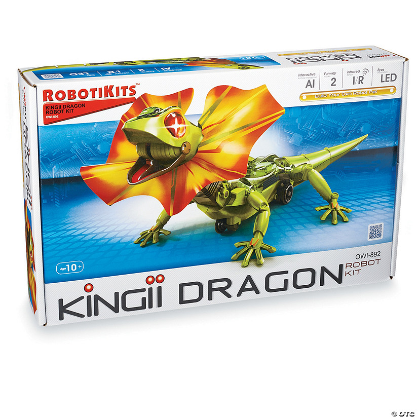 Kingii Dragon Robot Kit Audio Thumbnail