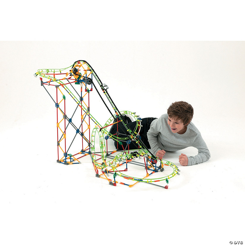 K'Nex Double Doom Roller Coaster