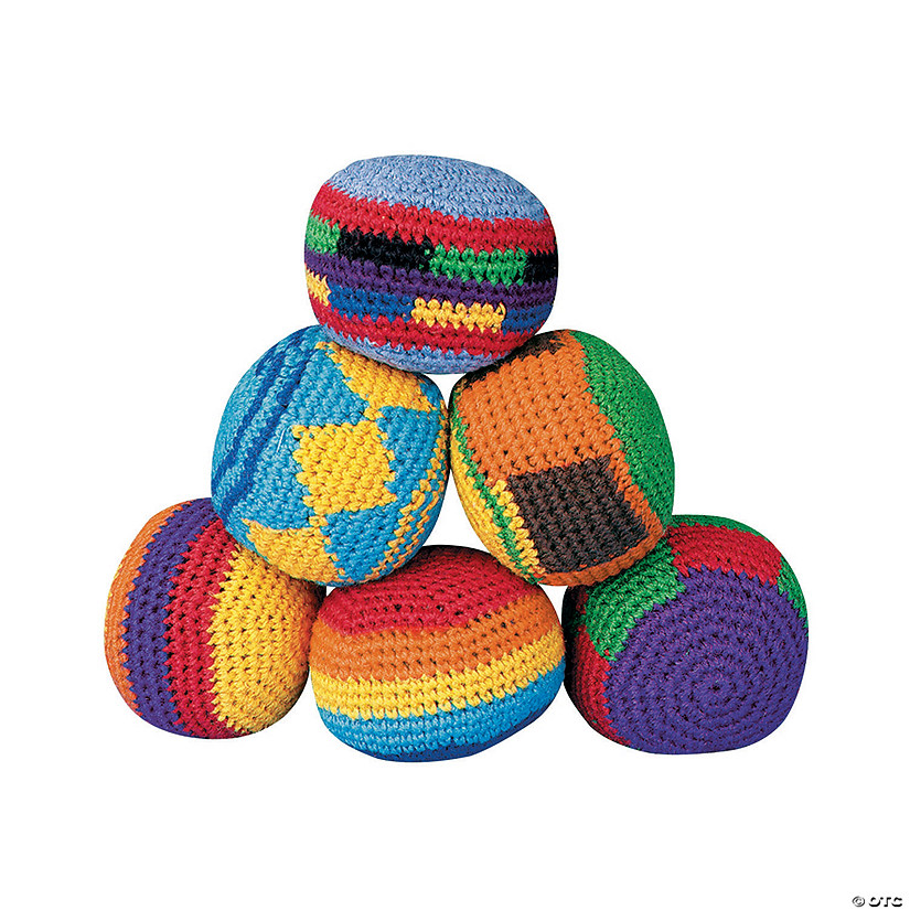 Knitted Kickballs