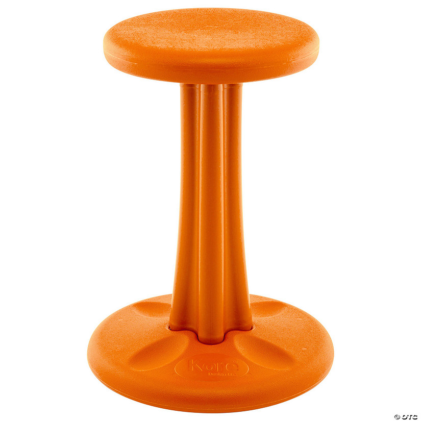 "Kore™ Teen Wobble Active Chair, 18"" Orange"