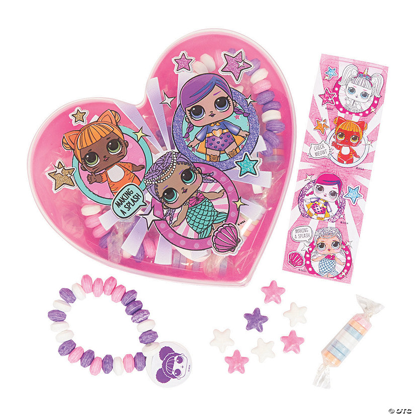 L.O.L. Surprise™ Heart-Shaped Box with Hard Candy Image Thumbnail