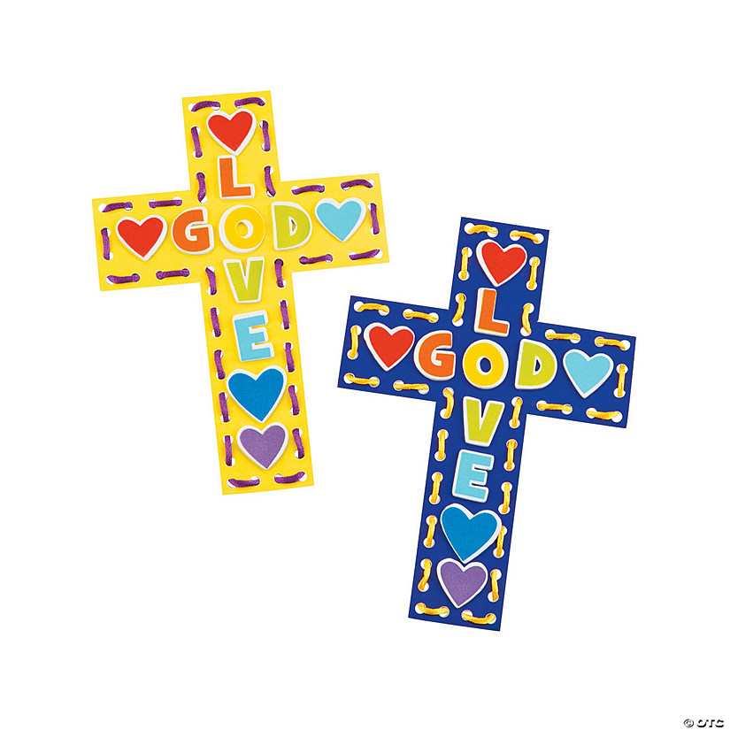 Lacing Cross Craft Kit Discontinued