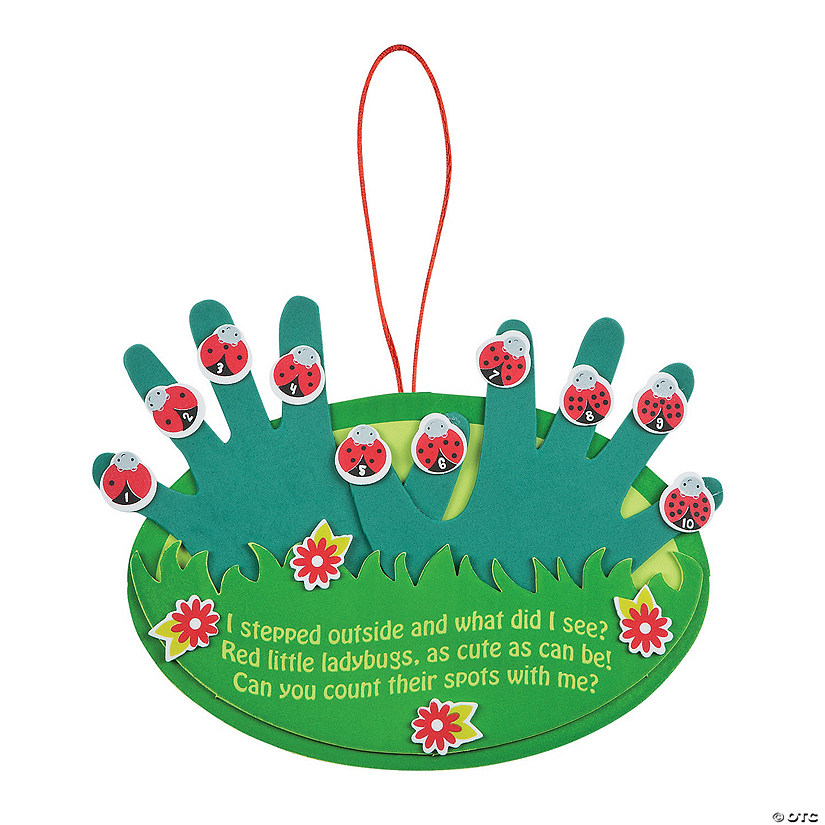 Ladybugs Handprint Craft Kit