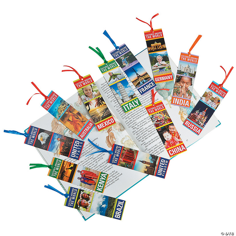 Laminated Cultures of the World Bookmarks Audio Thumbnail