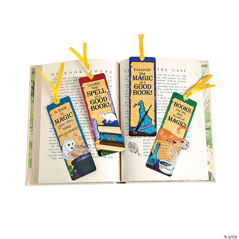 Laminated Wizard's Academy Bookmarks