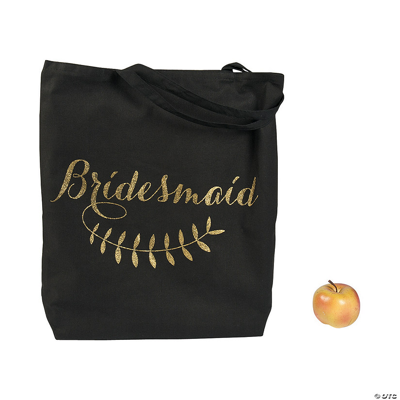 Large Bridesmaid Tote Bag Audio Thumbnail