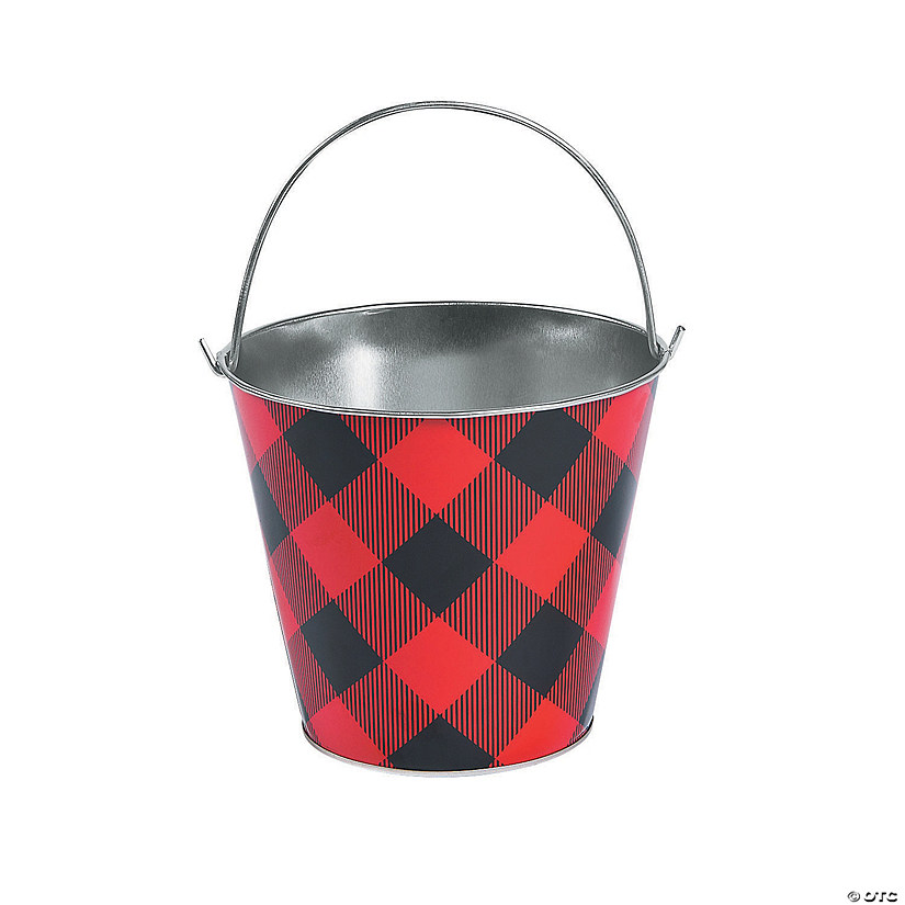 Large Buffalo Plaid Pail Audio Thumbnail