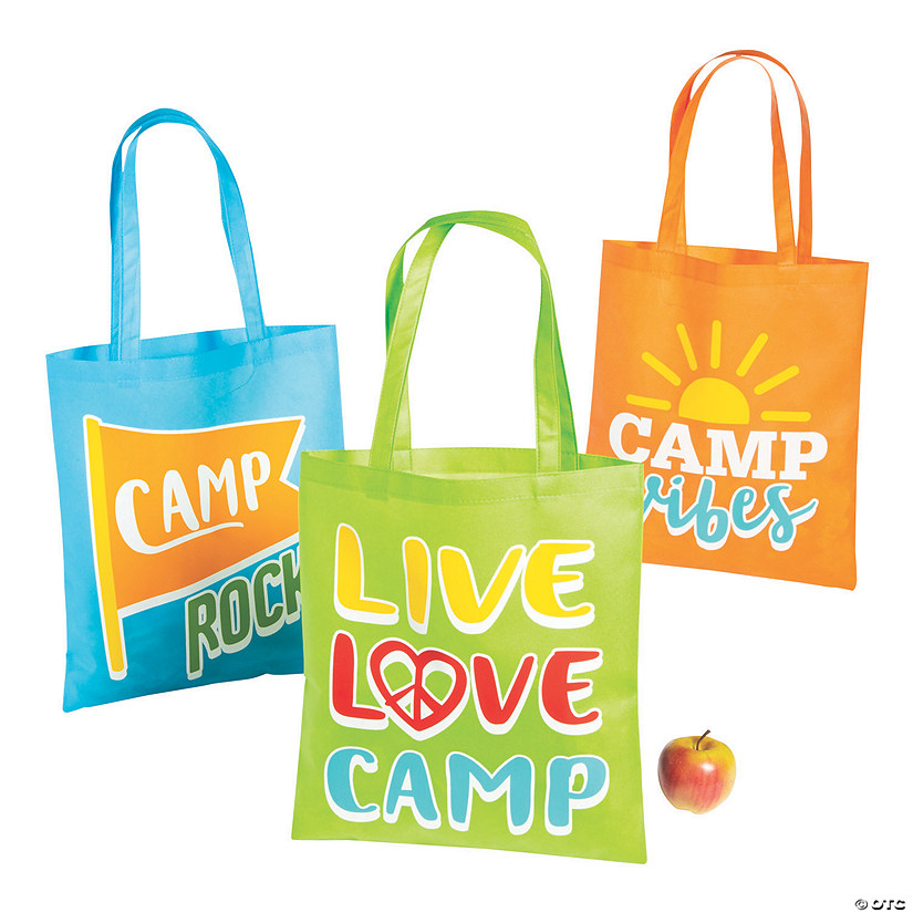 Large Camp Tote Bags Audio Thumbnail
