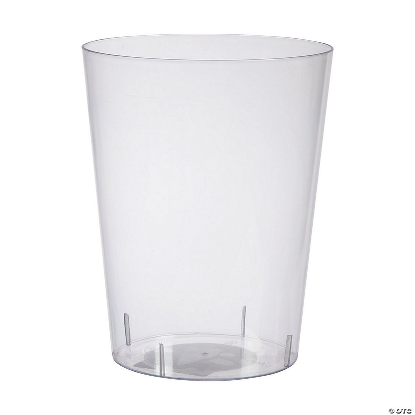 Large Clear Cylinder Plastic Container