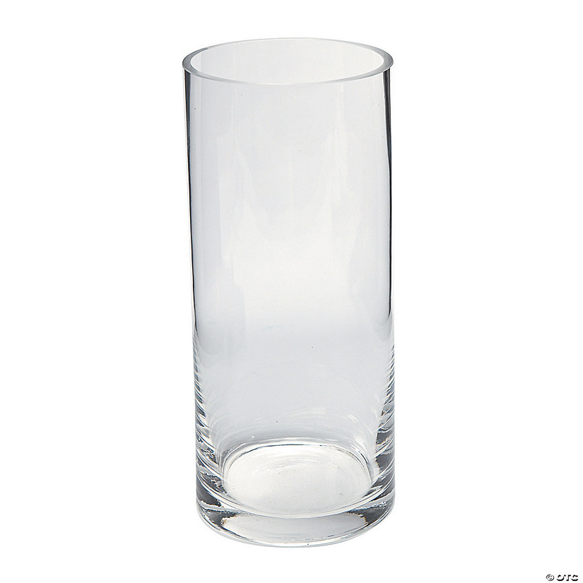 Large Cylinder Glass Vase