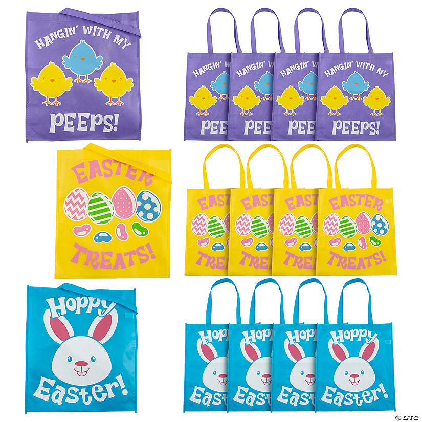 Large Easter Tote Bags Audio Thumbnail