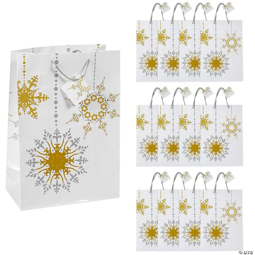 Large Gold & Silver Gift Bags with Tags Audio Thumbnail