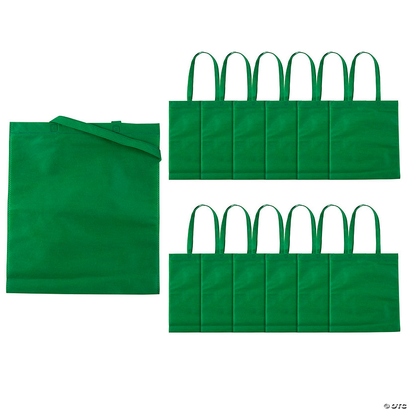 Large Green Tote Bags Image Thumbnail
