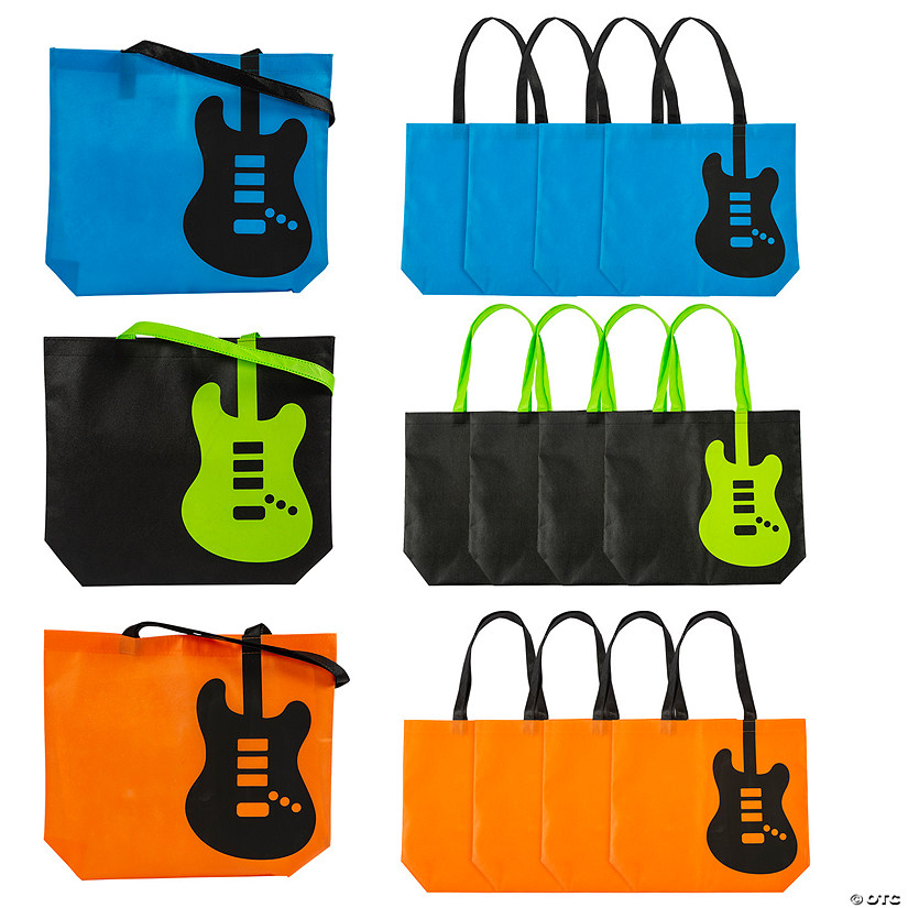 Large Guitar Tote Bags Audio Thumbnail