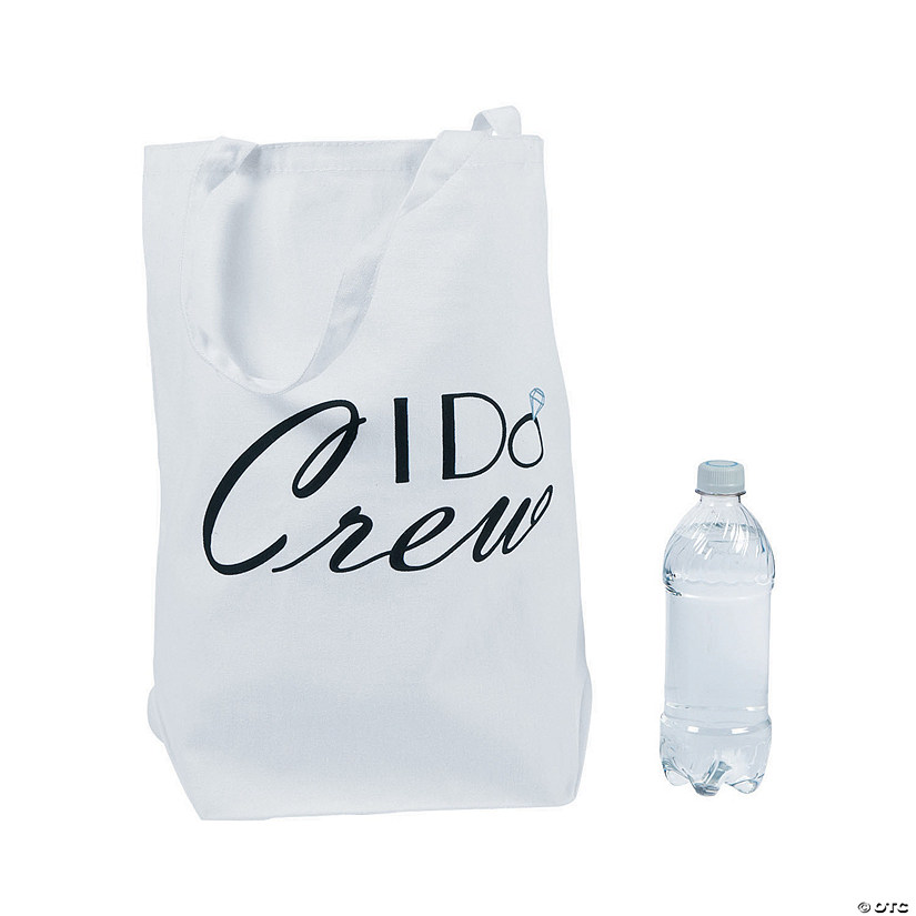 Large I Do Crew Tote Bag Audio Thumbnail