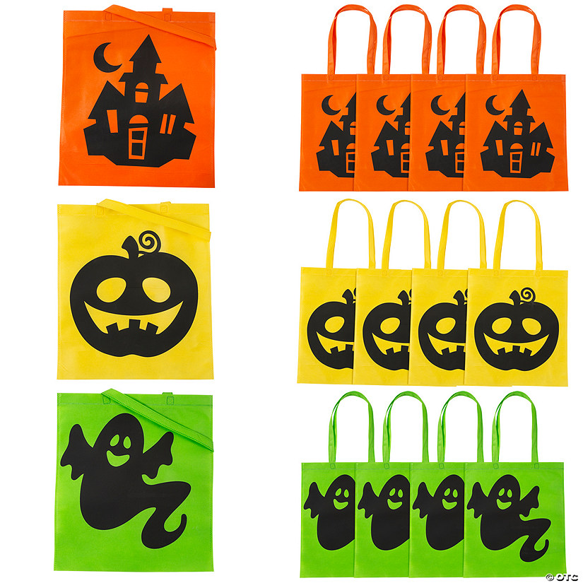 Large Iconic Halloween Tote Bags Audio Thumbnail