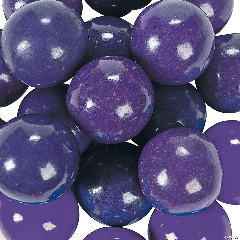 Large Purple Gumballs